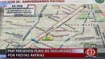 Fiestas Patrias: Los desvíos del 28 y 29 de julio en el Centro de Lima - Noticias de avenida perú