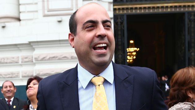 Legislador Pedro Spadaro niega integrar red Orellana. (Rafael Cornejo)
