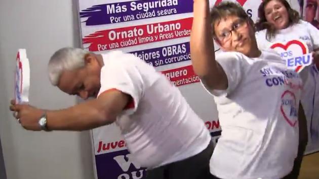 El Ras tas tas y la política peruana. (Youtube)