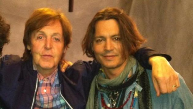 Image result for paul mccartney johnny depp