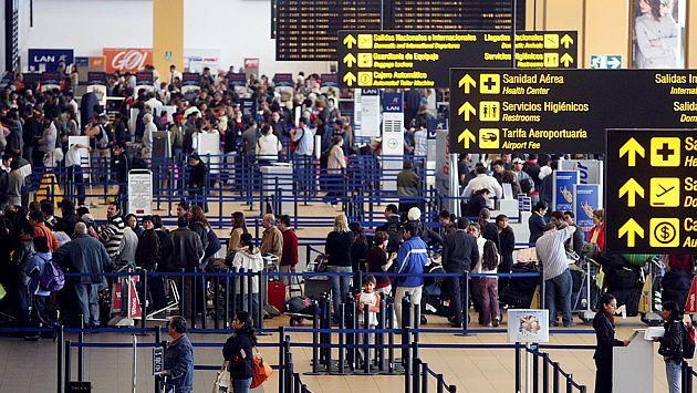 Solo el 8% de peruanos compró un seguro de viajes para el exterior. (USI)