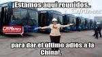Corredor Tacna–Garcilaso–Arequipa: Se burlan de Villarán y los buses azules