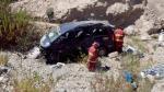Ica: Vehículo cae a abismo de 100 metros y mueren tres personas - Noticias de accidente en ica