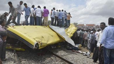 Accidentes de tránsito, India, Trenes