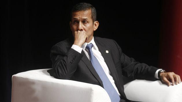 Ollanta Humala dará mensaje luego de Misa Tedeum. (Mario Zapata)