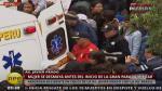 Parada Militar: Mujer se desmayó antes del desfile - Noticias de desfile militar
