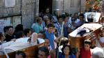 España: Desfile de ataúdes con muertos vivientes en honor a Santa Marta - Noticias de jesus resucitado