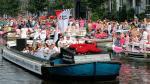 Así se celebró el Día del Orgullo Gay en Ámsterdam [Fotos] - Noticias de mh17