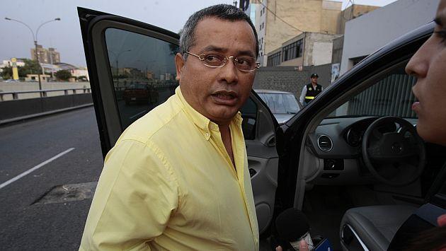 Rodolfo Orellana se sigue burlando de la justicia y hasta tiene nexos en el Congreso. (Rafael Cornejo)