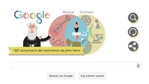 Rinde homenaje a John Venn (Google)