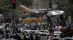 Jerusalén: Un israelí murió en ataque con una excavadora - Noticias de accidente en chincha