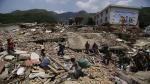 China: Cifra de muertos por el sismo subió a 589 - Noticias de lluvias intensas