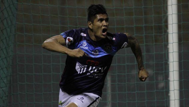 El colombiano Cordoza anotó el único tanto del encuentro. (USI)