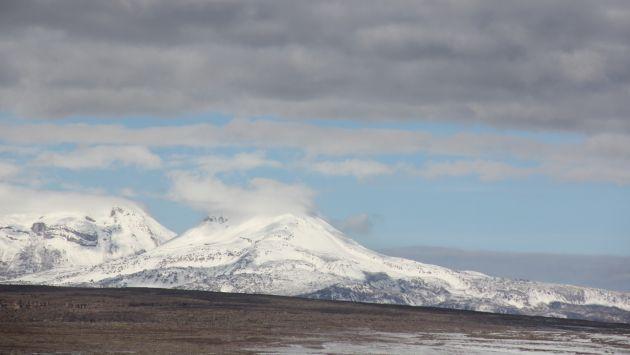 FUMAROLAS CONTINÚAN. Las emisiones en el volcán son ininterrumpidas. (INGEMET)