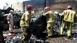 Irán: Mueren 39 al estrellarse un avión cerca del aeropuerto de Teherán - Noticias de accidente en chincha