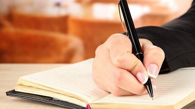 ¿Por qué escribir a mano? Entérate de sus beneficios. (USI)