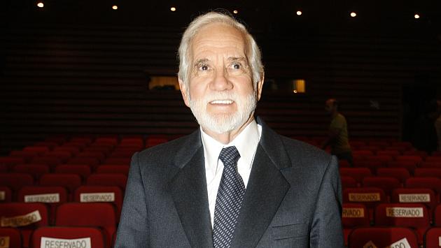Ricardo Blume, protagonista de 'Viejos amigos'. (Perú21)