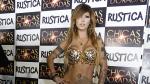 Angie Jibaja es la nueva 'chica dorada' de Rústica - Noticias de coqueteo