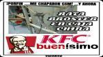 Memes de la rata encontrada en KFC de Plaza San Miguel - Noticias de