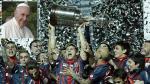 San Lorenzo viaja al Vaticano para mostrarle su Copa Libertadores al Papa