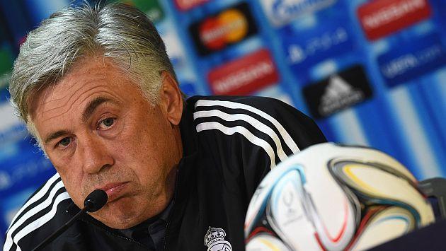 Ancelotti duda entre Di María o James Rodríguez para la Supercopa de España. (EFE)