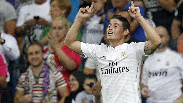 James Rodríguez anotó su primer gol con el Real Madrid en el Bernabéu [Video]