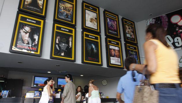 Lima tiene 45 de los 77 cines que existen en todo el país. (USI)
