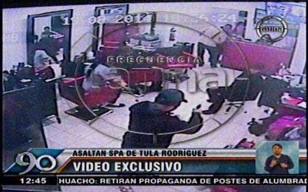 La Victoria: Así fue el asalto al spa de Tula Rodríguez