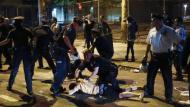 Policía redujo a los revoltosos. (Reuters)