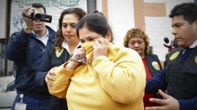 César Álvarez, María Elena Burgos Guanilo, Jorge Burgos Guanilo