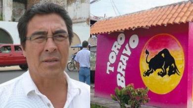 Víctor Grandez, Hostal Toro Bravo