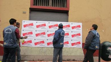 Centro de Lima, Piratería, Imprenta clandestina