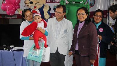 Hospital Dos de Mayo, Concurso de Bebés Mamoncitos 2014