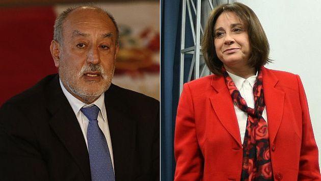 Eleodoro Mayorga y Midori de Habich renunciarían para lograr voto de confianza. (Perú21)