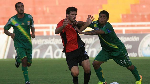Melgar empató 2-2 con Sport Huancayo en Arequipa. (Perú21)