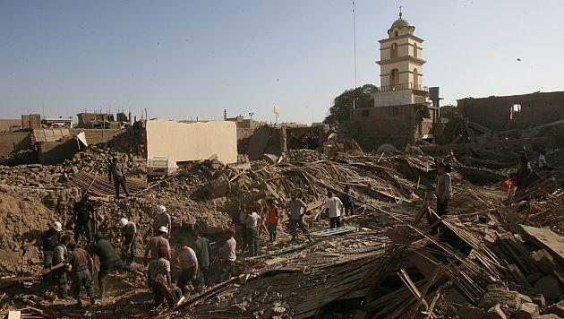 Los grandes terremotos se producen cada 100 o 200 años, de acuerdo con Rainer Kind. (Juan Ponce)