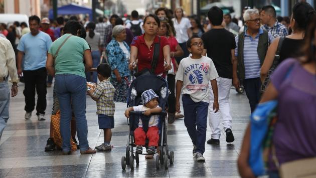Pobreza se redujo gracias al crecimiento de la economía. (USI)