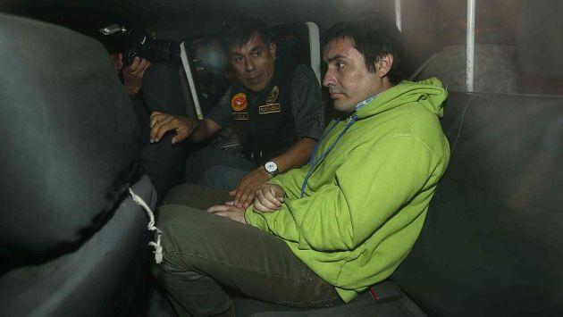 Paul Olórtiga fue trasladado a Piura para juicio