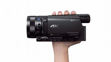 Sony, Handycam 4K AX100