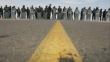 Chile, Policía Nacional, Tacna, La Haya, Triángulo terrestre