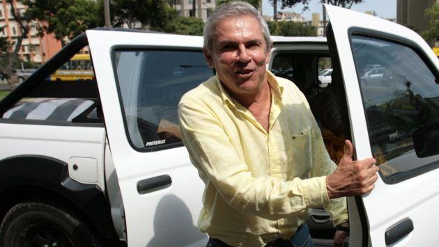 Luis Castañeda seguiría en carrera. (USI)