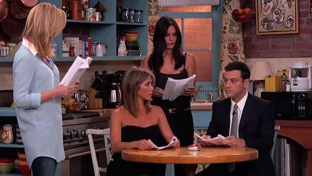 'Friends': 'Rachel', 'Mónica' y 'Phoebe' se reencontraron en sketch