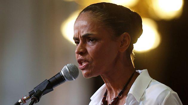 Marina Silva retira respaldo a bodas gay. (Reuters)
