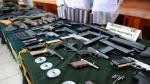 Rímac: Armas incautadas iban a ser utilizadas para asalto en Cañete - Noticias de juan carlos garcía