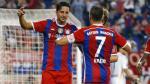 Claudio Pizarro y Juan Vargas debutan en sus respectivos equipos