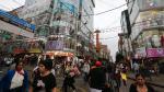 Gamarra: Subastarán 69 locales del emporio comercial