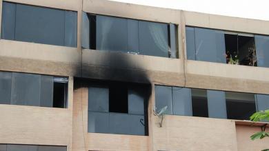 Bomberos, Incendio, San Isidro, Municipalidad de San Isidro