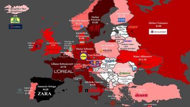 Europa, Millonarios