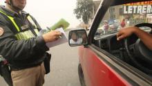 Lima, Policía Nacional, Papeletas