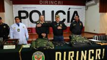Policía Nacional, Palacio de Gobierno, Rímac, Cañete, Inseguridad ciudadana